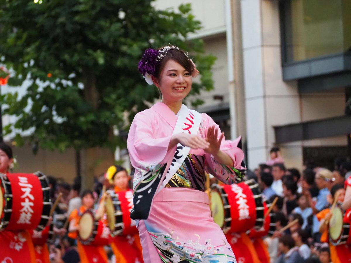 ミスさんさ踊り2019
