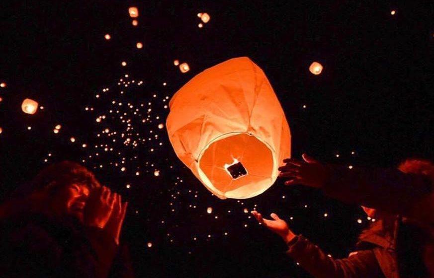 【台風のため中止】2019年 笠間天燈節 本物の炎が空に舞う スカイランタンイベント【茨城県・笠間市】