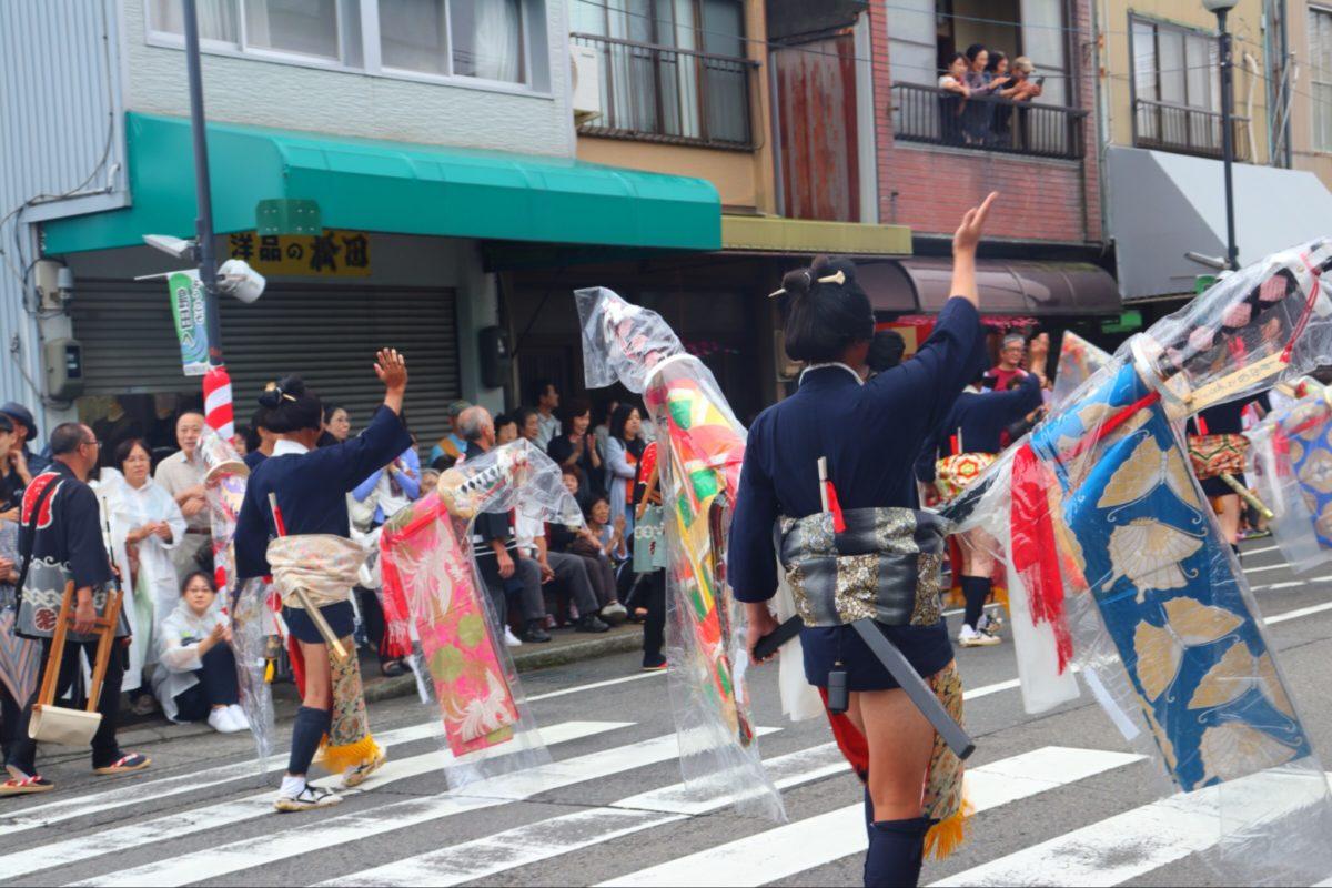 【島田大祭帯まつり】第109回目も無事に江戸時代へタイムスリップ!