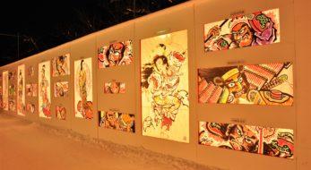 みちのく5大雪まつり『弘前城雪燈籠まつり』 青森県弘前市にて 2月8日から11日まで開催!