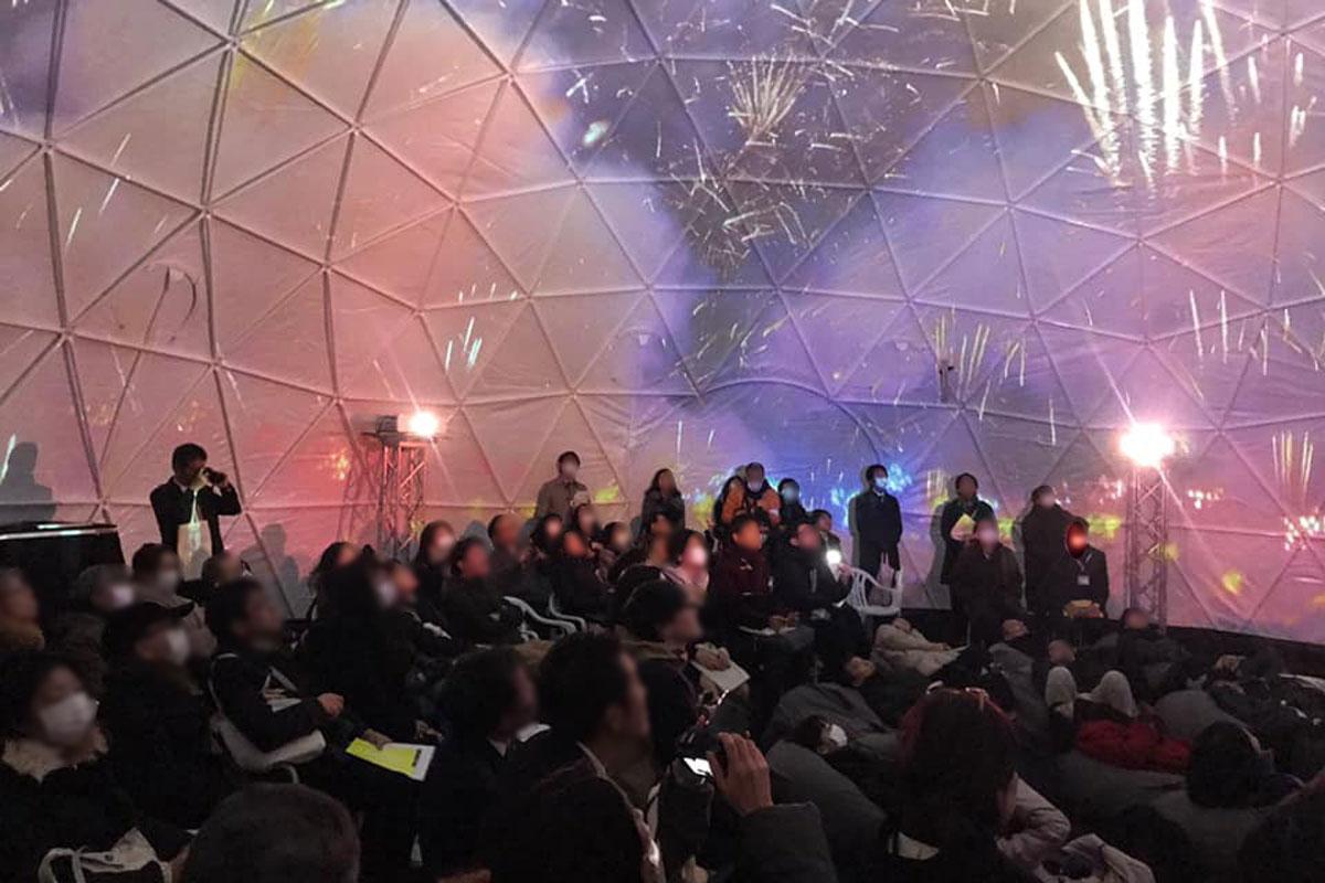 ハナビリウムとは?恵比寿映像祭で上映される花火師しか味わえない全方位360度のスペクタクル!