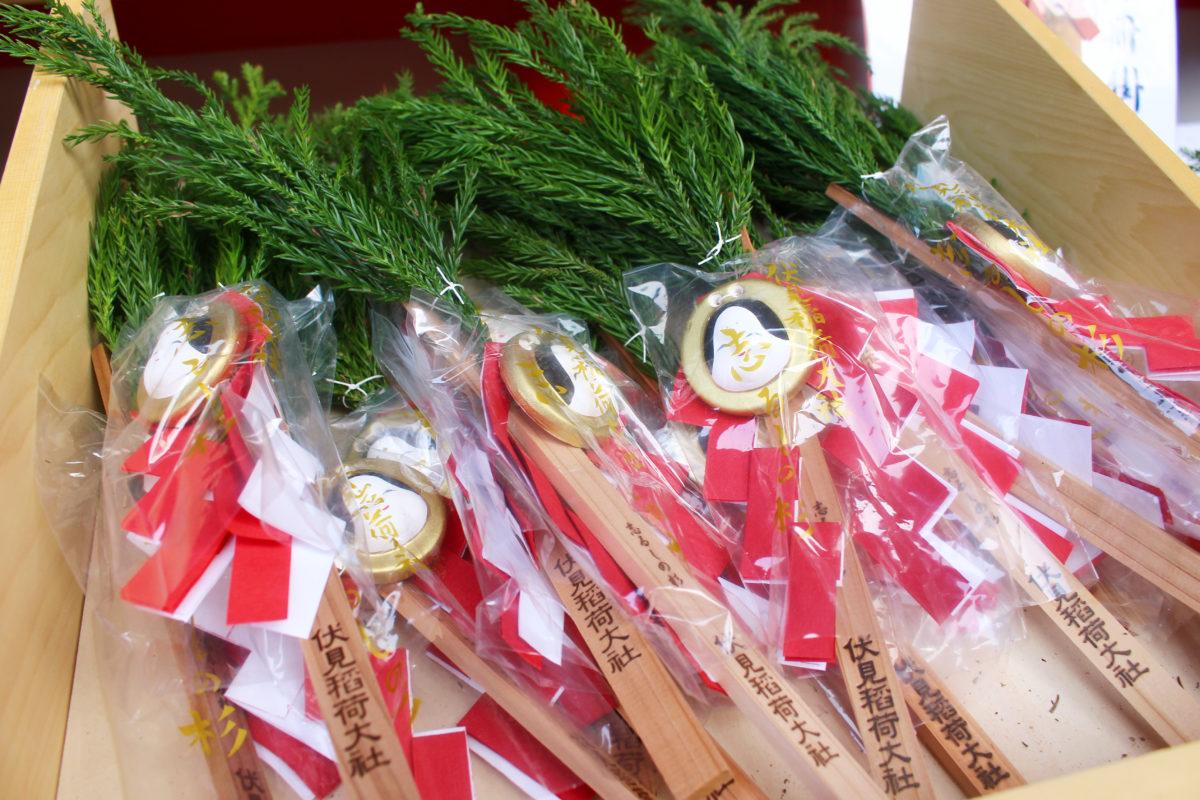 伏見稲荷大社 初午大祭へ福参りに行こう!しるしの杉、達成のかぎと呼ばれるパワーアイテムが有名!?