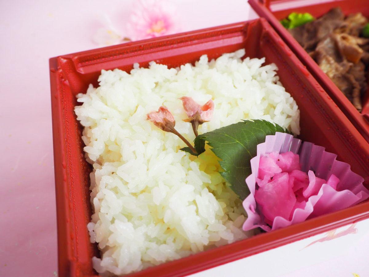 浅草今半「花見弁当」1,620円(税込)
