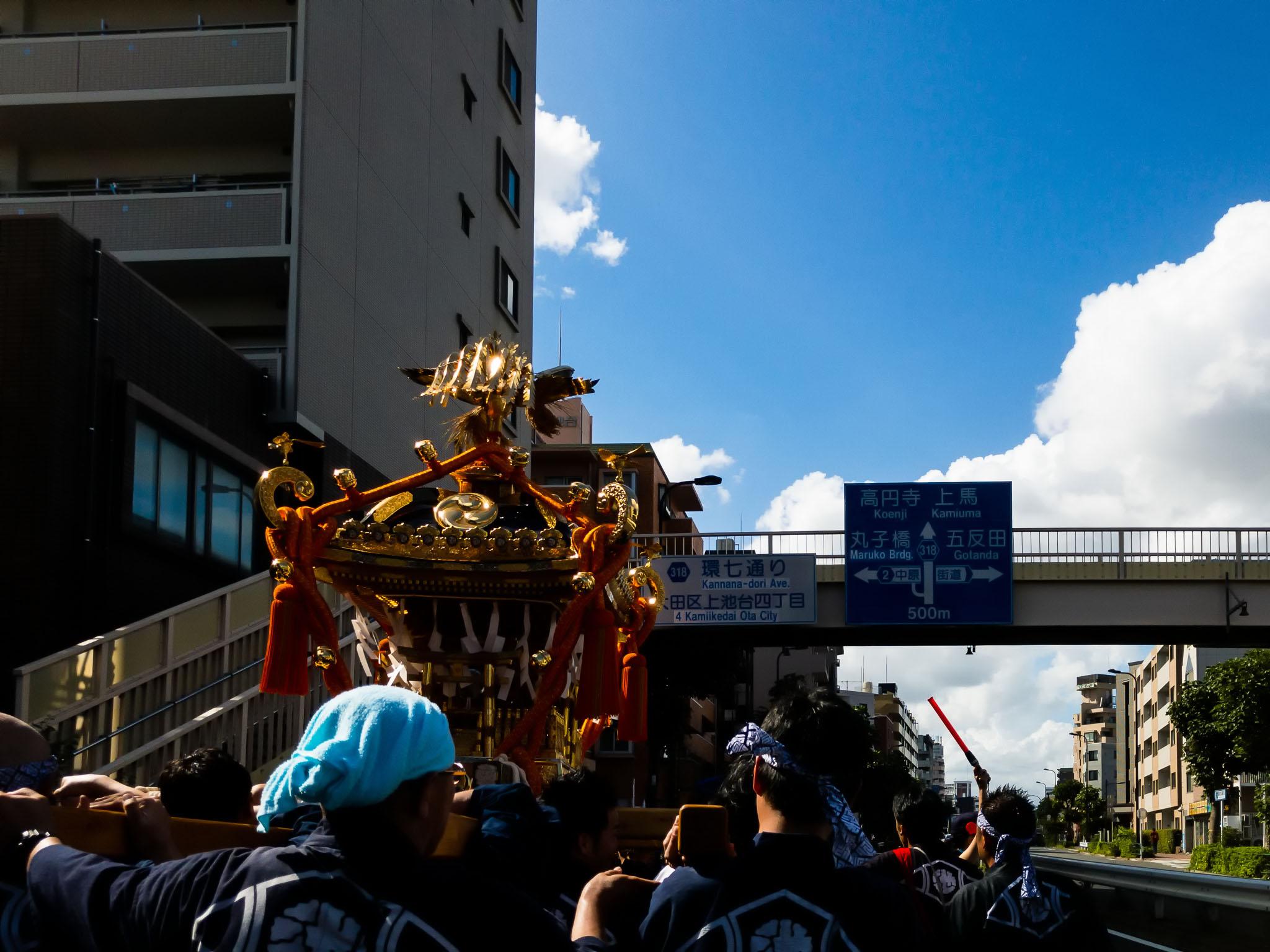 小池祭礼大人神輿町内渡御 (2019年)