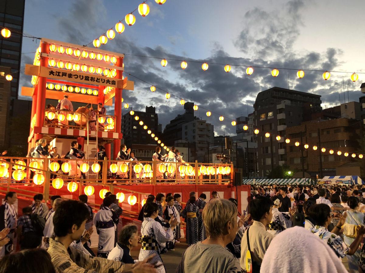 【中央区大江戸まつり】江戸っ子参加必須の盆踊り!踊らないと夏は終われない!