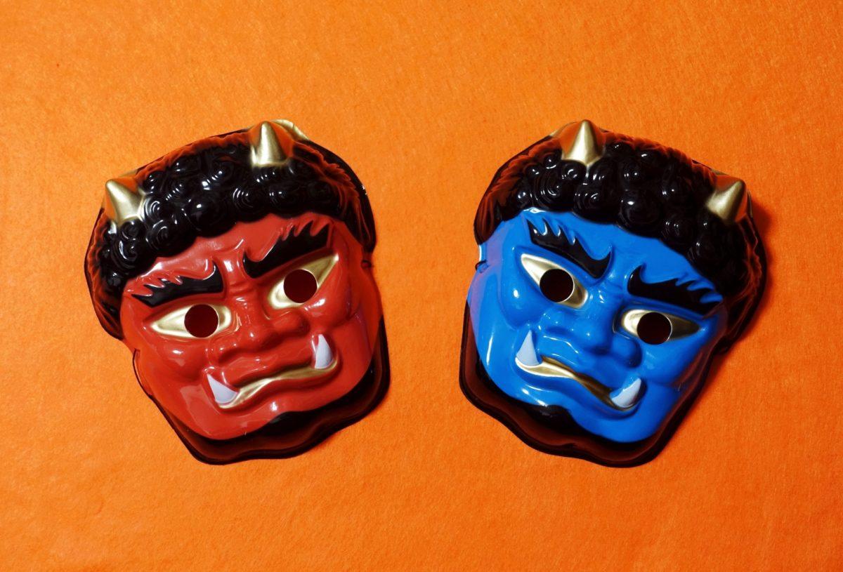 鬼とは?起源や種類を洗いざらい紹介!5色鬼のそれぞれの意味は?