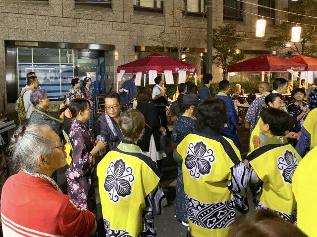 【べったら盆踊り大会】とともに、東京の盆踊りシーズンも終わる。寂しい思いとともにその年の疲労をねぎらいつつ、翌年の盆踊りに期待するのだ