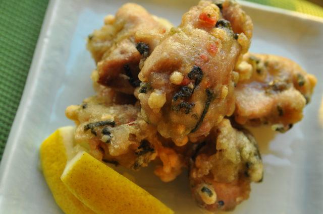 鶏肉の梅風味から揚げ