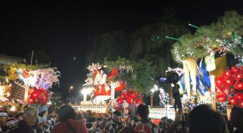 【盛岡八幡宮例大祭】華やかなお囃子と音頭に彩られ勇壮な山車が練り歩く3日間
