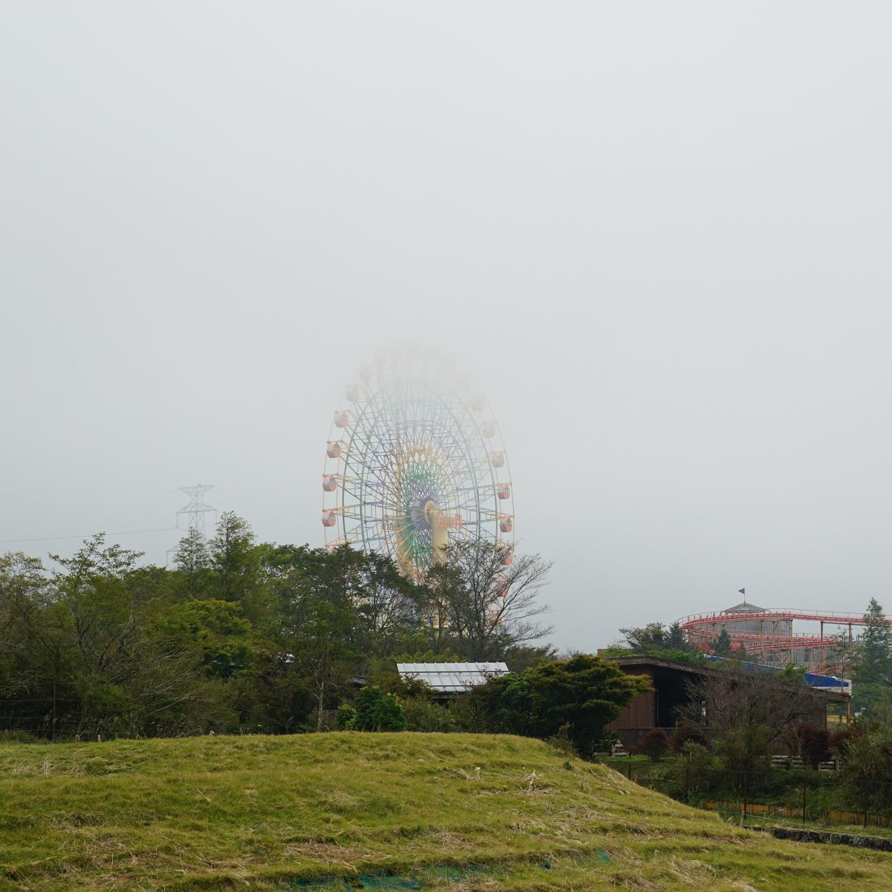 the 絶景花火天候は曇り