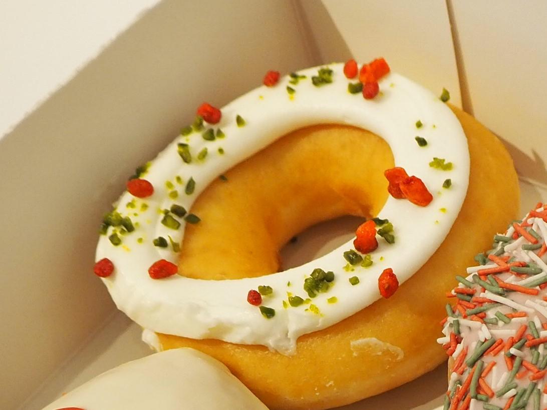 クリスピークリームドーナツのホワイト チーズ クリーム