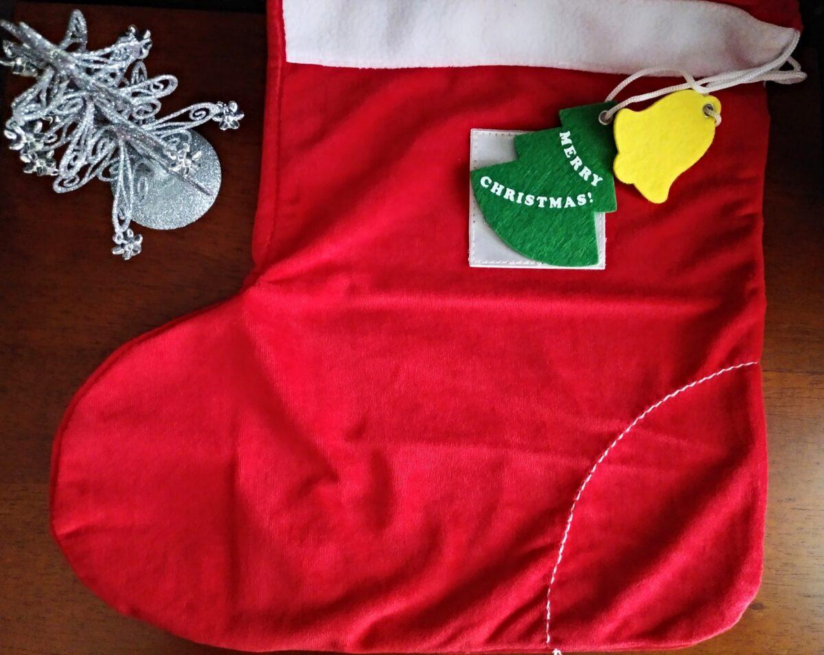 クリスマスの特大靴下はどこで買う?ゲット方法&作り方をご紹介