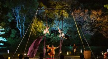 「ヌーヴォー・シルク・ジャポン in 栗林公園」美と和の融合!現代サーカス