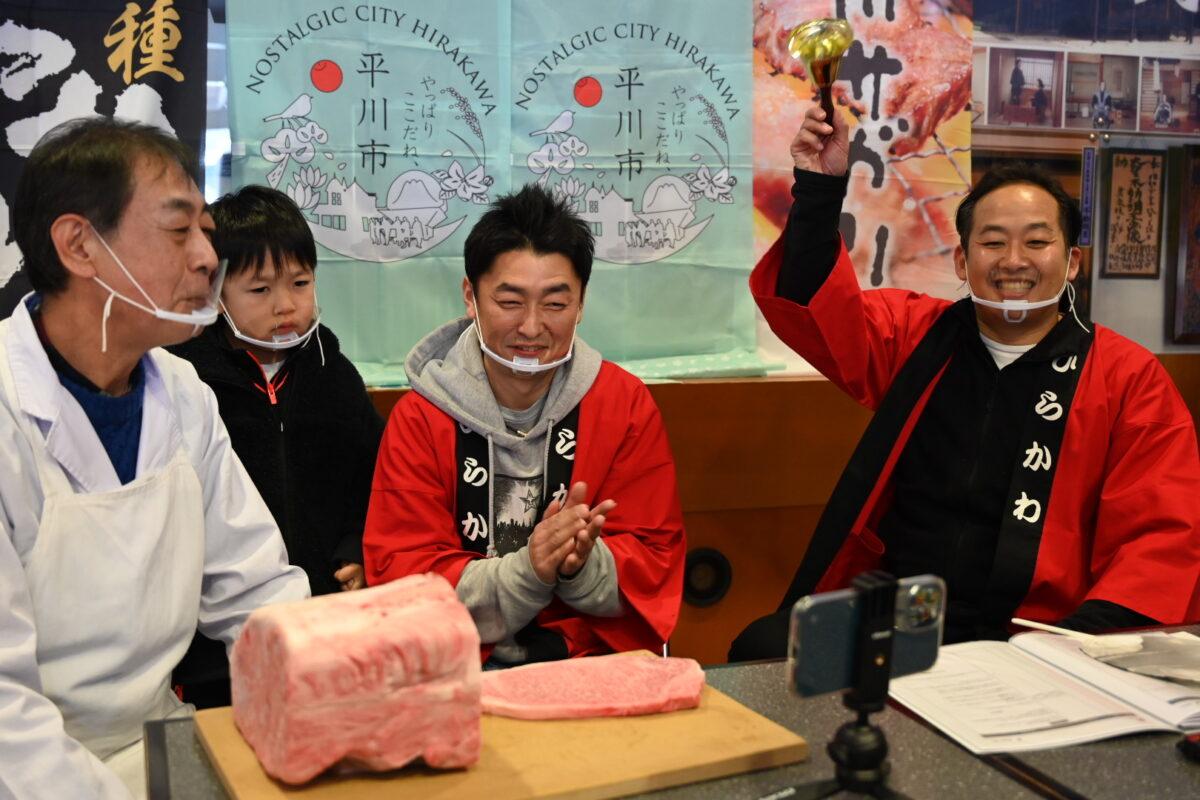 SERIの最後には、谷川さんの次男も配信に出演した