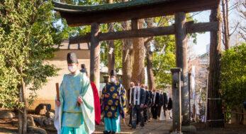 雪ヶ谷八幡神社・2021年コロナ禍の節分追儺式前夜祭レポート