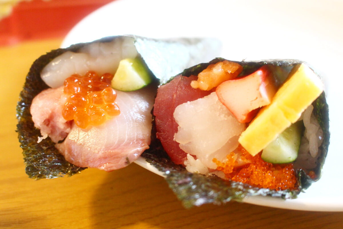 はま寿司のひな祭りは、お家で手巻き寿司!追いシャリでお寿司を握ることも