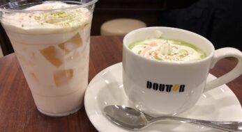 ドトールコーヒーの春フェア「桜抹茶オレ」と限定フードを実食してみた<2021年>