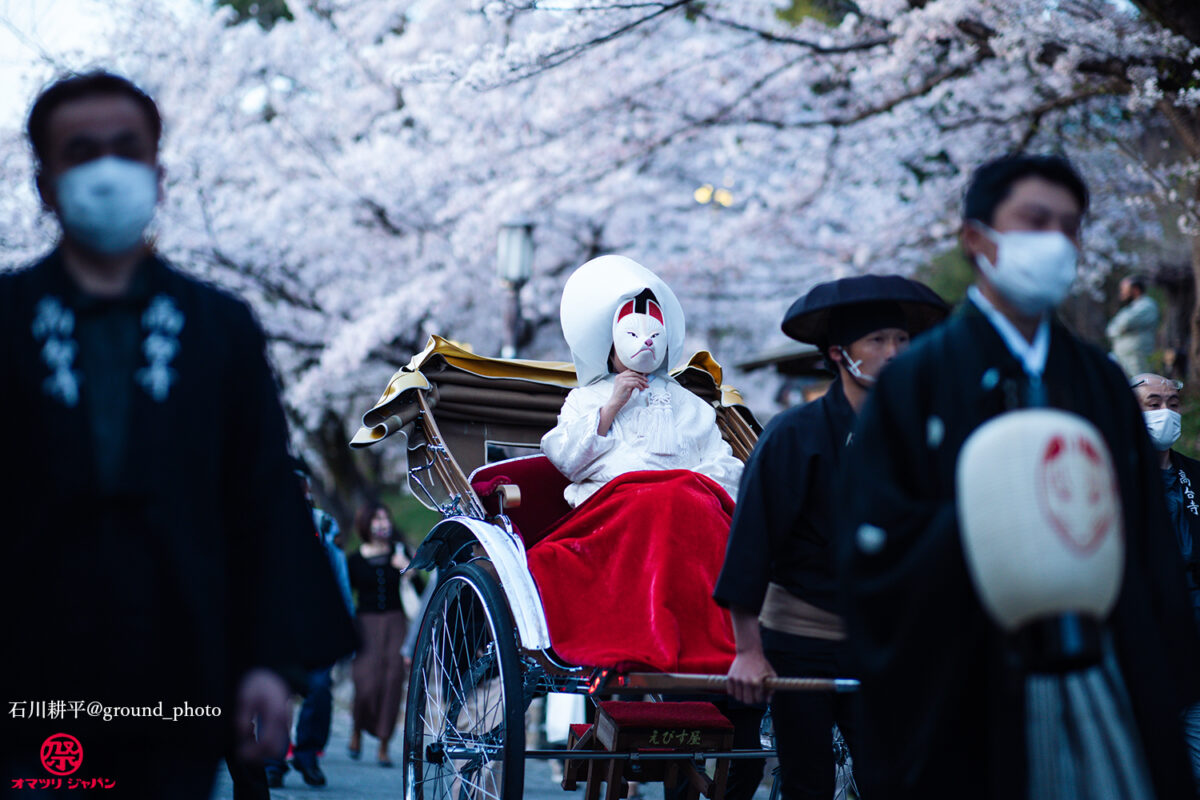 京都東山花灯路「狐の嫁入り」花嫁役になって参加レポート