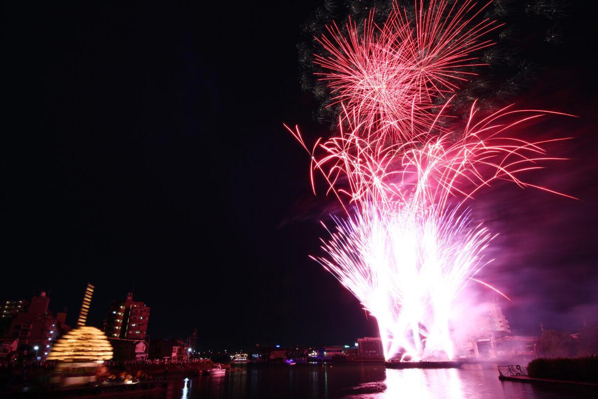 堀川まつり2021開催速報!名古屋・熱田の初夏の夜に疫病退散花火が打ちあがる