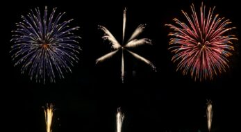 地域の人々、子どもたちのために花火を届けたい!「東の花火が開催!