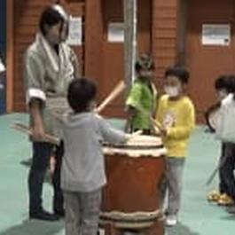 和太鼓やお囃子 小学生が郷土芸能を体験 群馬・伊勢崎市