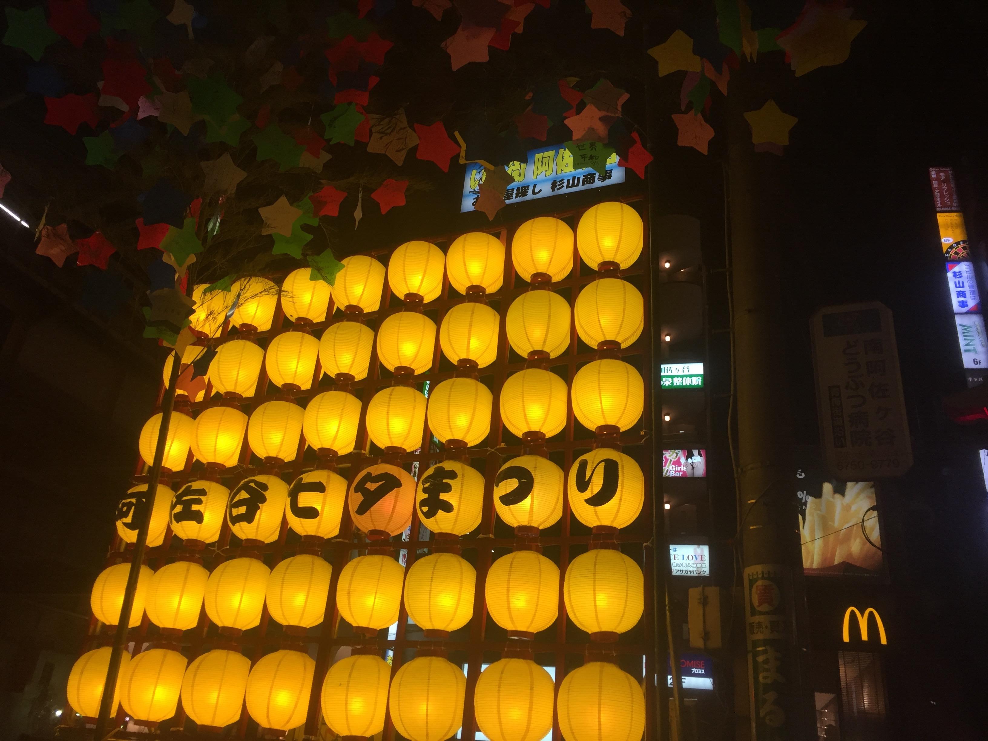 【2021年開催中止】阿佐谷七夕まつり