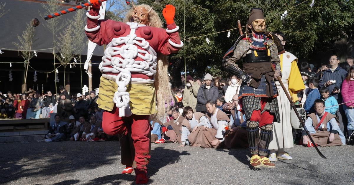 国指定重要無形民俗文化財【豊橋鬼祭】