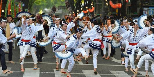 すずめ踊り(提供:仙台・青葉まつり公式HP)