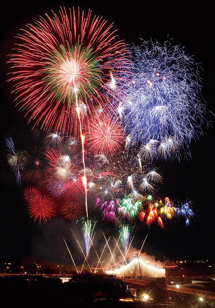 【2020年開催中止】全国花火名人選抜競技大会ふくろい遠州の花火