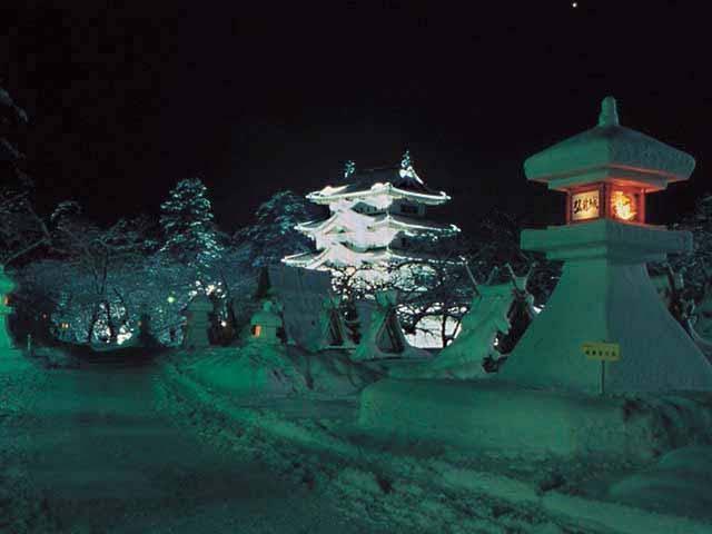 第45回弘前城雪燈籠まつり
