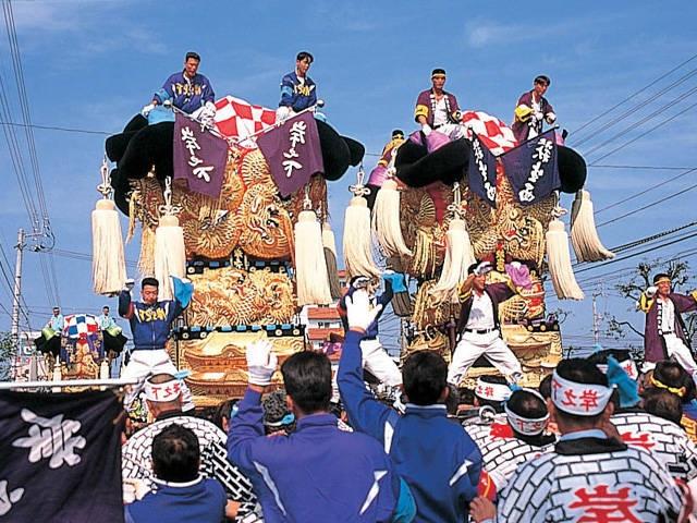 【2020年開催自粛】新居浜太鼓祭り