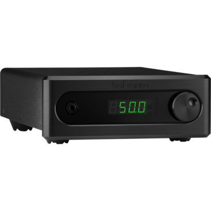 bel canto c5i integrated amplifier front black