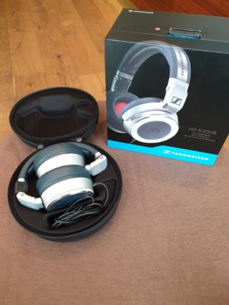 Sennheiser HD630VB headphones silver ex demo case