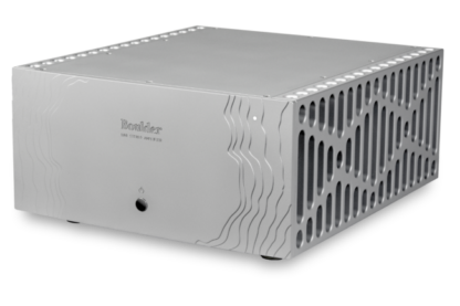 Boulder 1160 stereo power amplifier side