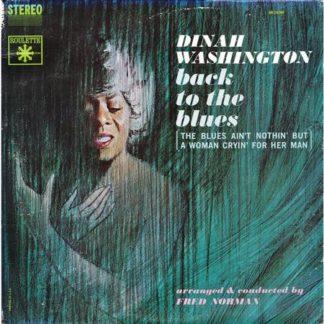 Dinah Washington back to the blues