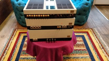 siltech saga amplifier from the back