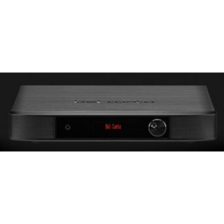Bel canto black ex dac integrated front