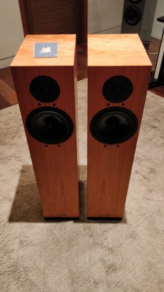spendor a6r loudspeakers zoomed out