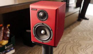 Aurender s5w wireless speakers wine red