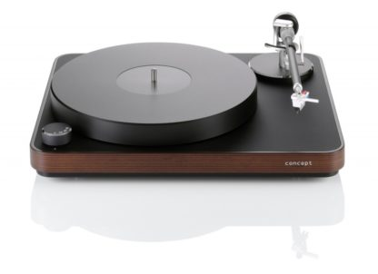 Clearaudio concept MM turntable in Baltic Birch
