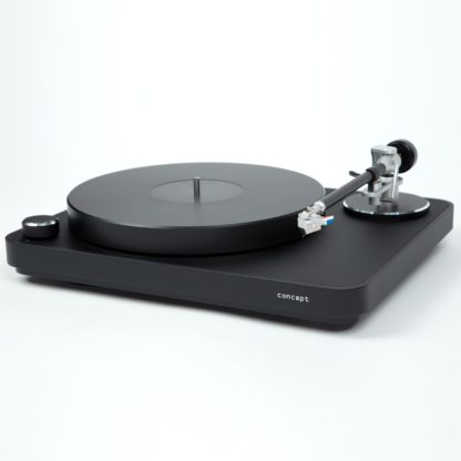 Clearaudio concept mm turntable all black