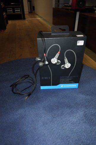 Sennheiser IE 80 S in ear headphones