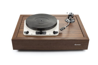 Garrard Turntable front
