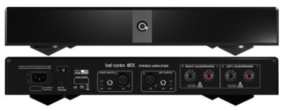 Bel canto e1x stereo amplifier