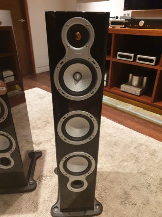 monitor audio gs60 black gloss