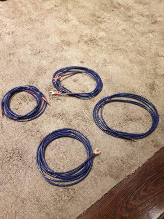 Burmester loudspeaker cable 2 x 3m pair silver/blue