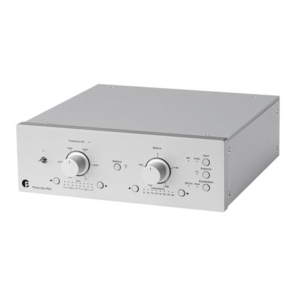pro-ject Phono box rs2 phono box in silver