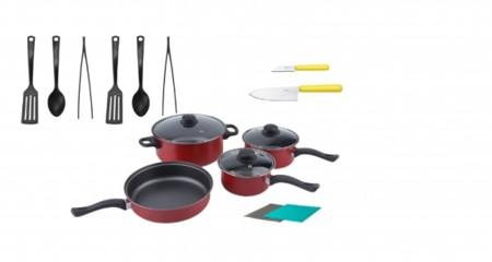 Inhabitr Basic Cookware Set