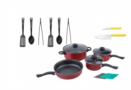 Inhabitr Basic Cookware Set