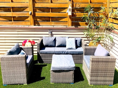 Patio Outdoor Lounging Set - Oak Park II